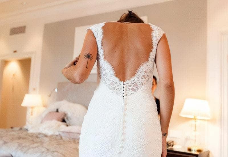 весільне наймодніше коротке плаття