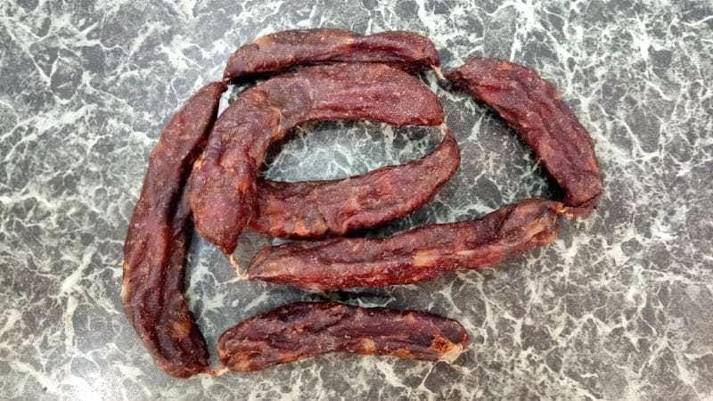 Сиров'ялена ковбаса зі свинини в домашніх умовах рецепт з фото