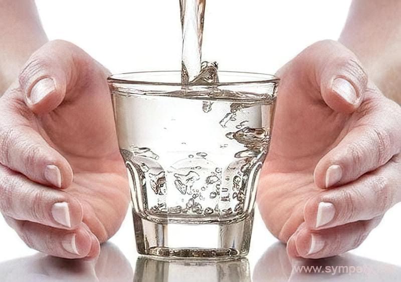 Tehnika Stakan vody