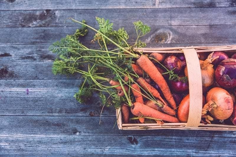 Овочі в кошику
