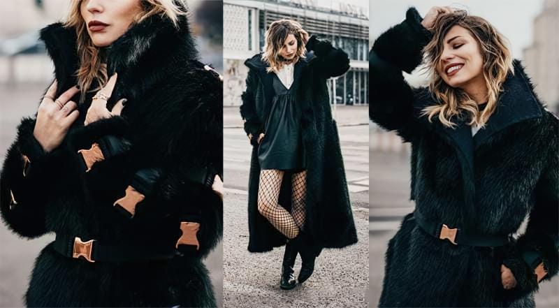 З чим можна носити модне пальто з штучного хутра? 2