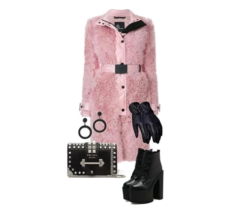 З чим можна носити модне пальто з штучного хутра? 3