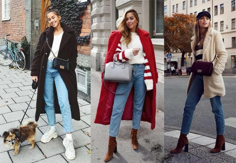 З чим можна носити модне пальто з штучного хутра? 7