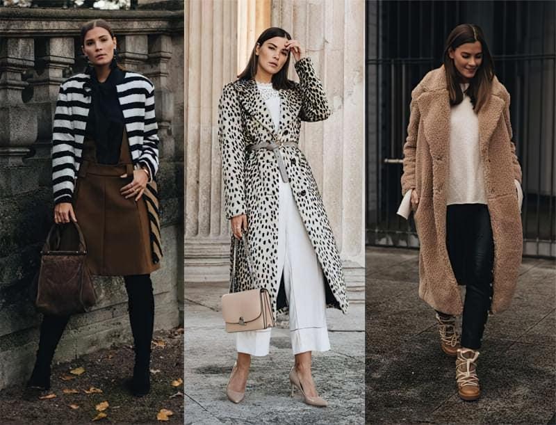З чим можна носити модне пальто з штучного хутра? 1