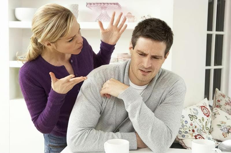 конфлікт в сім'ї