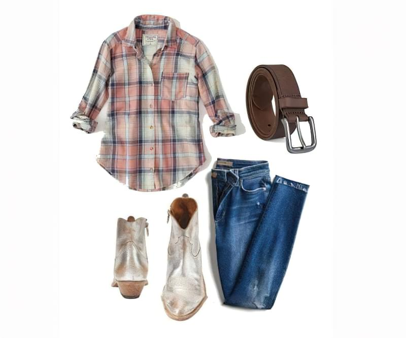 Ковбойський стиль в одязі - ідеї образів для дівчат 4