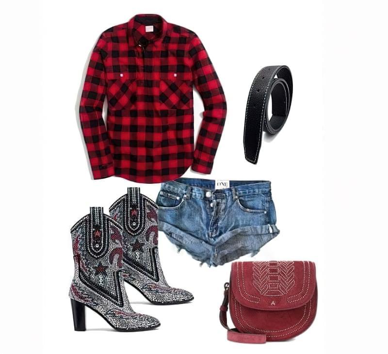 Ковбойський стиль в одязі - ідеї образів для дівчат 5