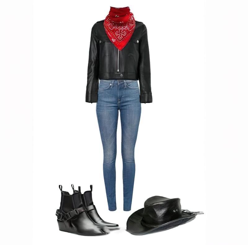 Ковбойський стиль в одязі - ідеї образів для дівчат 6