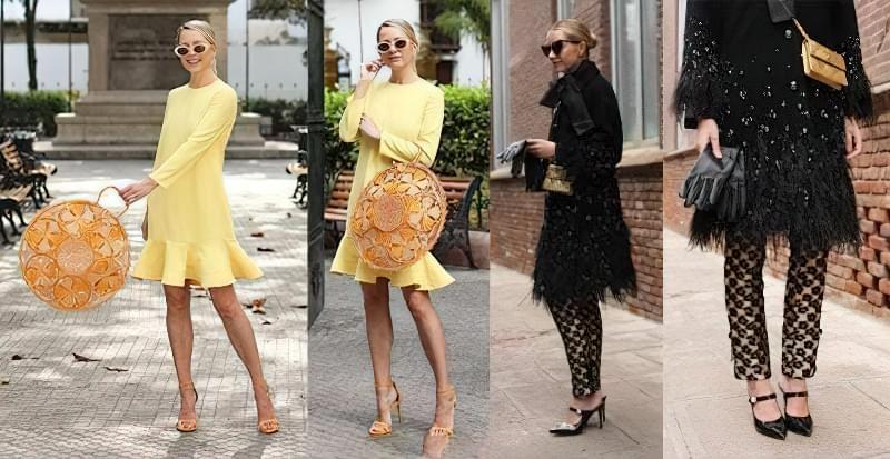 З чим носити жовту сумку? 4