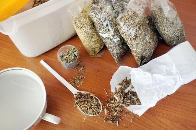Збори трав для лікування надлишкового виділення шлункового соку