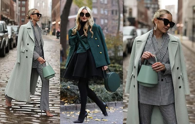 З чим носити зелену сумку: цікаві ідеї 3