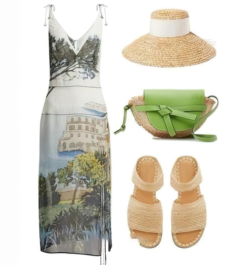 З чим носити зелену сумку: цікаві ідеї 4
