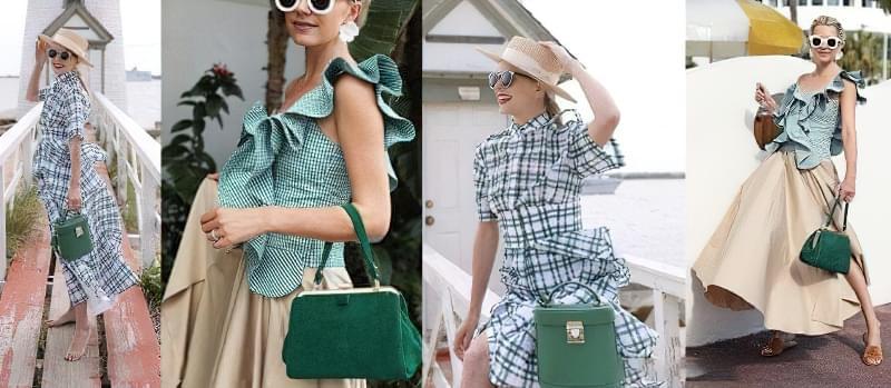 З чим носити зелену сумку: цікаві ідеї 5