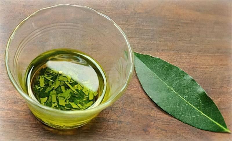 Самостійно приготоване масло з листочків лавра
