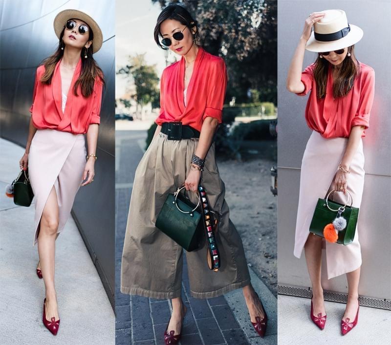 З яким одягом носити мюлі без каблука? 3