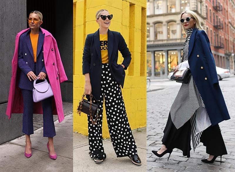 З чим носити жіночий піджак синього кольору? 3