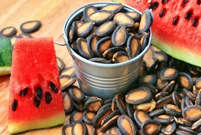 Кавунове насіння зміцнює імунітет і роблять благотворний вплив на організм