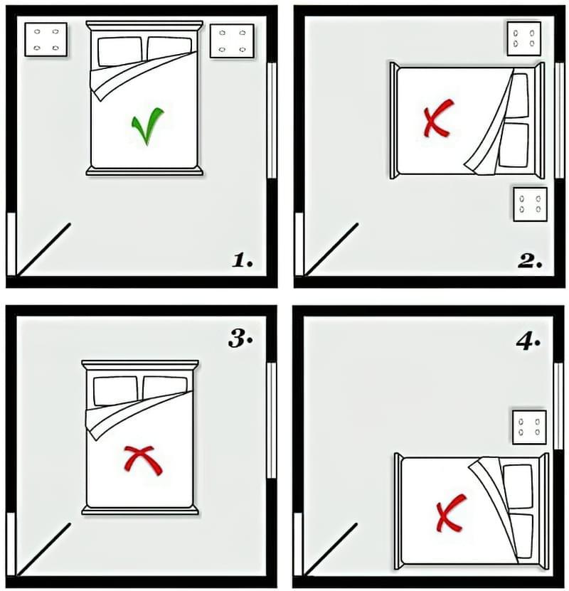 Чи дійсно не можна спати ногами до дверей? 3