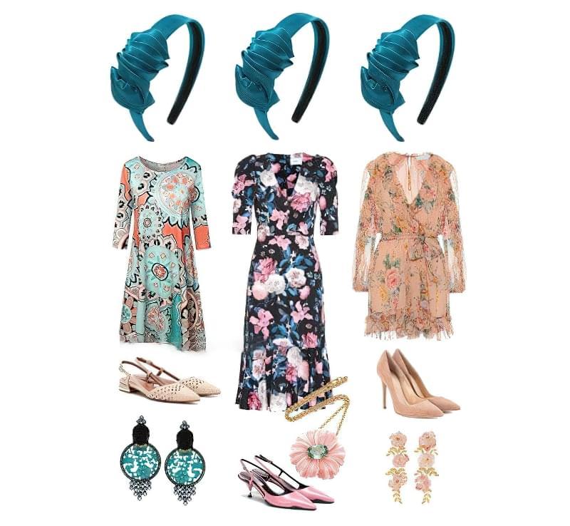 Стильні поєднання обідка для волосся і одягу