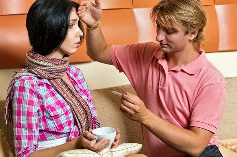 Ваш чоловік теж вважає, що хворіти — тільки його прерогатива?