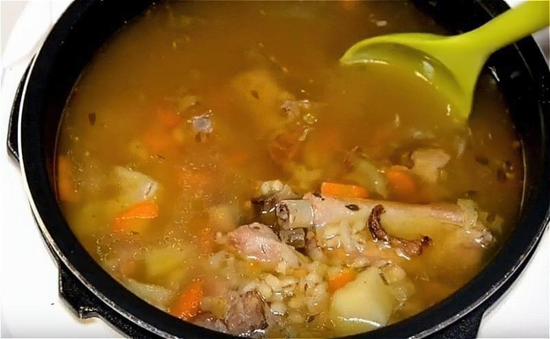 Grybnyj sup z sushenyh grybiv 17