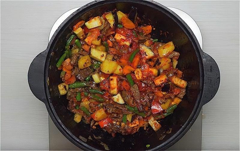 Лагман з яловичини в домашніх умовах - класичні рецепти 17
