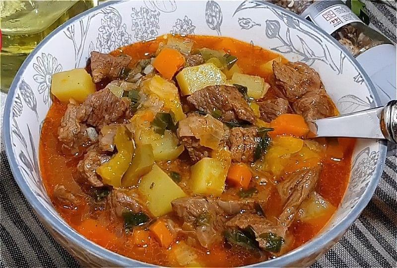 Лагман з яловичини в домашніх умовах - класичні рецепти 8